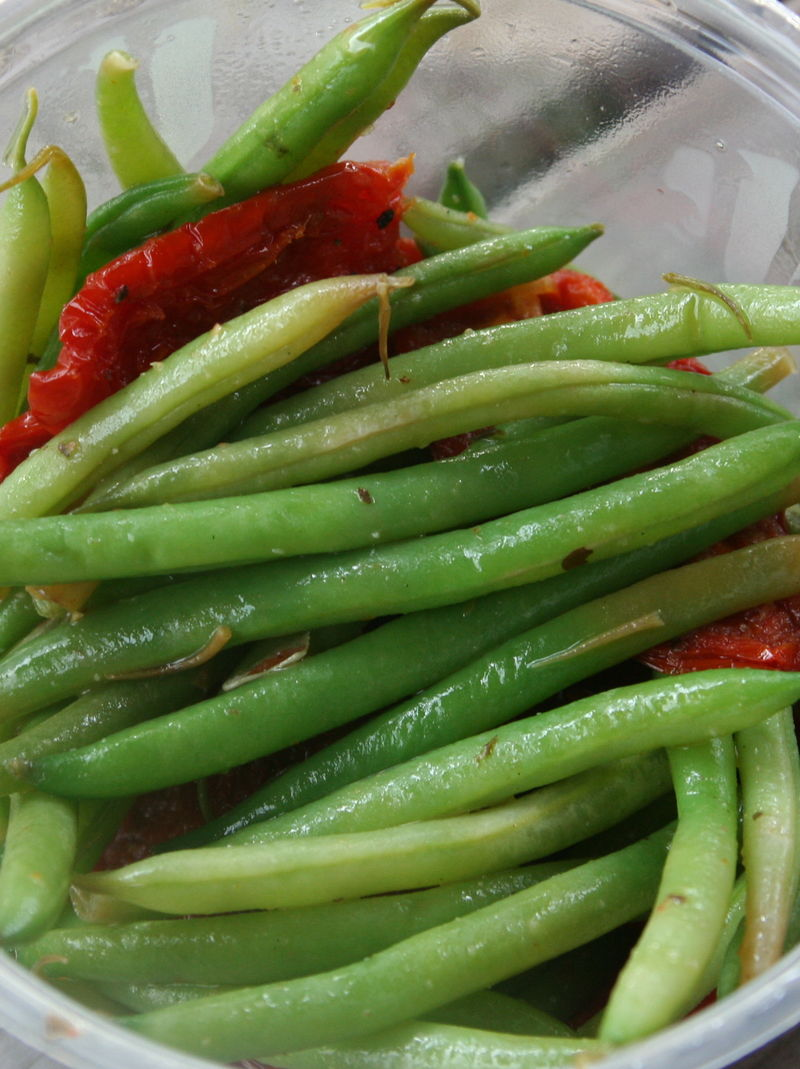 Haricot Vert with Oven Dried Tomatoes