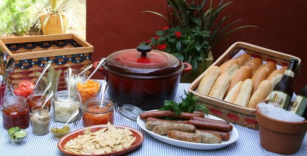 Count Down To Memorial Day Hot Dog Bar Chop A Culinary